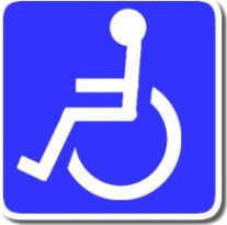 Image of a wheelchair symbol